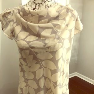 Banana Republic cowl neck blouse